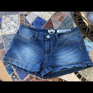 Indigo Rein Booty Shorts